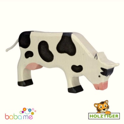 HOLZTIGER Cow grazing black