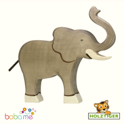 HOLZTIGER Elephant trunk raised