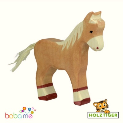 HOLZTIGER Foal light brown