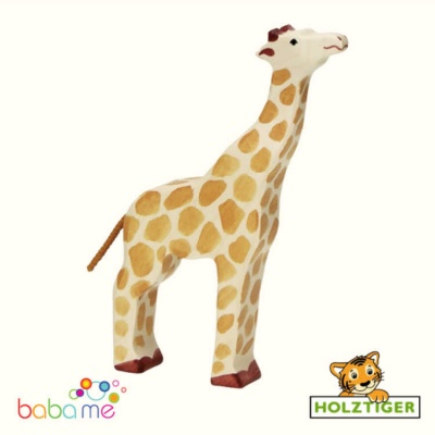 HOLZTIGER Giraffe head raised