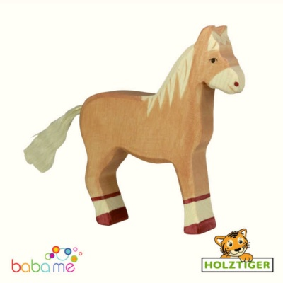 HOLZTIGER Horse Light Brown