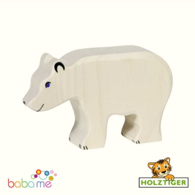 HOLZTIGER Polar bear feeding