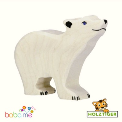HOLZTIGER Polar bear small