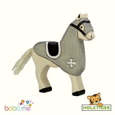 HOLZTIGER Tournament horse black
