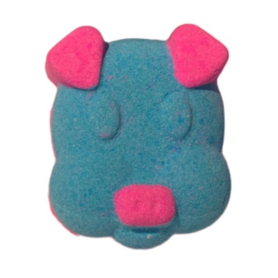 Daisy Rainbow Piggy Bath Bomb