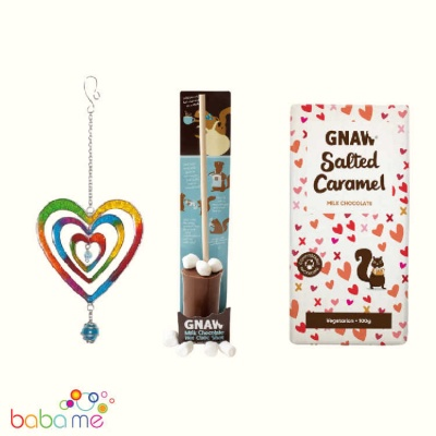 Thinking of You Gift-Hearts Suncatcher