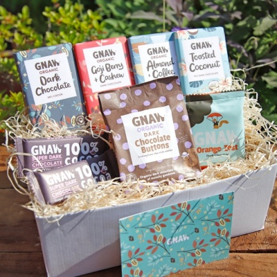 Gnaw Vegan-a-licious Dark Chocolate Hamper