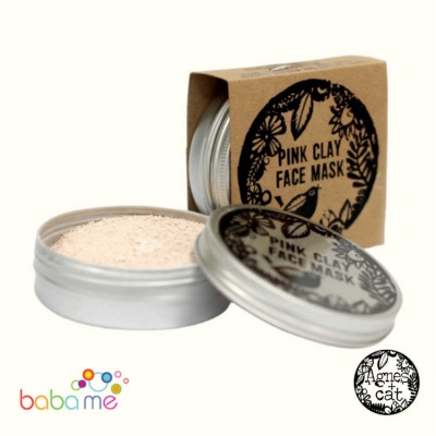 Agnes & Cat Pink Clay Face Mask