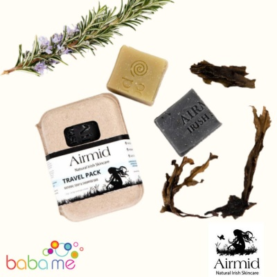 Airmid Soap & Shampoo Bar Travel Pack 100g