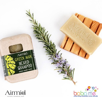 Airmid Green Man Beard Shampoo