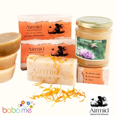 Airmid Honey & Oatmeal Soap 100g