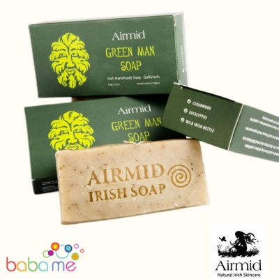 Airmid Irish Handmade Green Man Soap