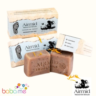 Airmid Irish Handmade Peppermint Foot Soap