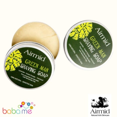 Airmid Green Man Shaving Soap
