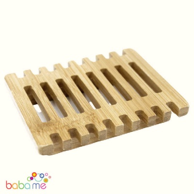 Hemu Wood Soap Dish Piano