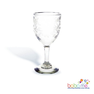 Artisans Fair Handmade recycled Wine Glass Large