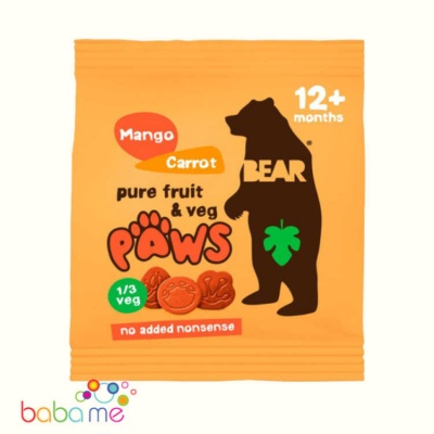 Bear Paws Mango & Carrot