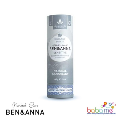 Ben & Anna Sensitive Highland Breeze Plastic Free Deodorant