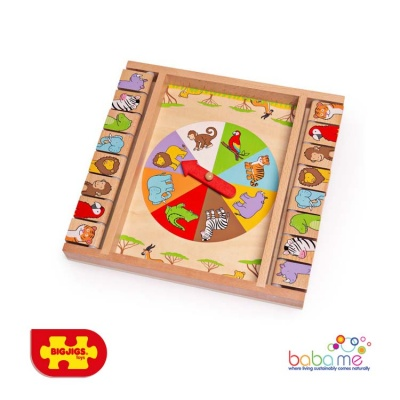 Bigjigs Animal Shut the Box