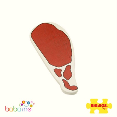 Bigjigs Bacon Wooden Play Food
