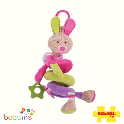 Bigjigs Bella Spiral Cot Rattle