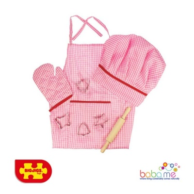 Bigjigs Chef's Set Pink
