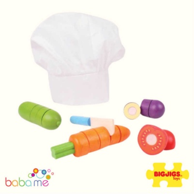 Big Jigs Cutting Vegetables Chef Set