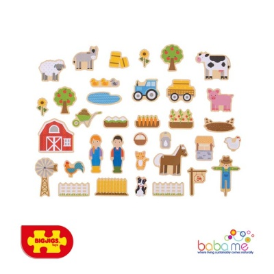 Bigjigs Farm Magnets