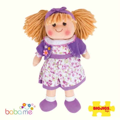 Bigjigs Laura Doll Medium