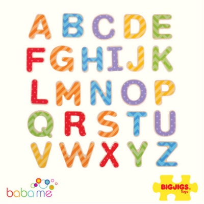 Bigjigs Magnetic Letters Uppercase