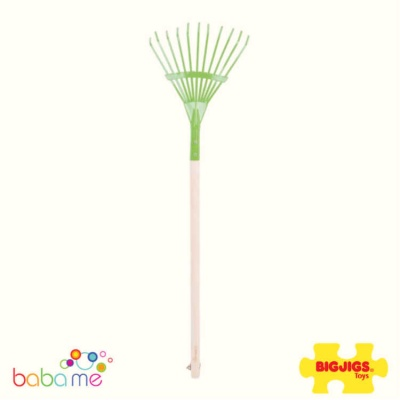 Bigjigs Long Handled Leaf Rake