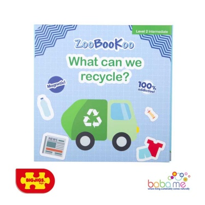 Bigjigs Magnet Book - What can we Recycle?