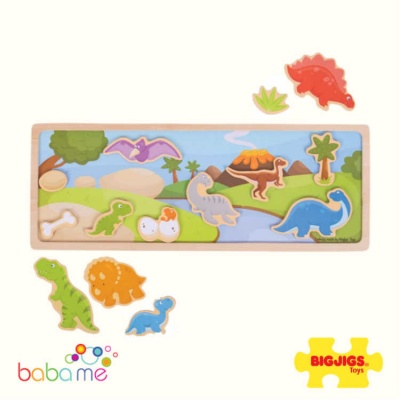Bigjigs Magnetic Board Dinosaur