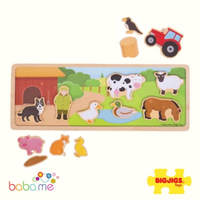 Bigjigs Magnetic Board Farm