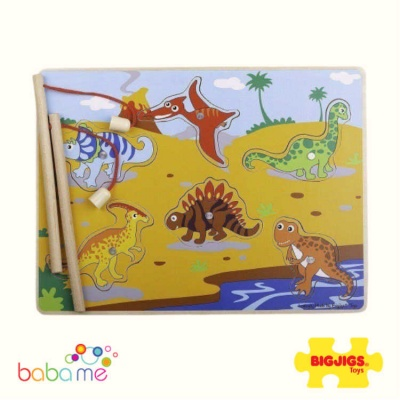 Bigjigs Magnetic Dino Fun