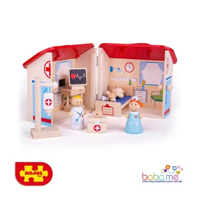 Bigjigs Mini Hospital Playset