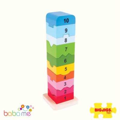Bigjigs Number Tower