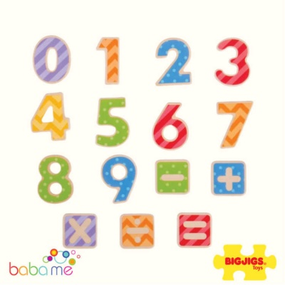 Bigjigs Magnetic Numbers