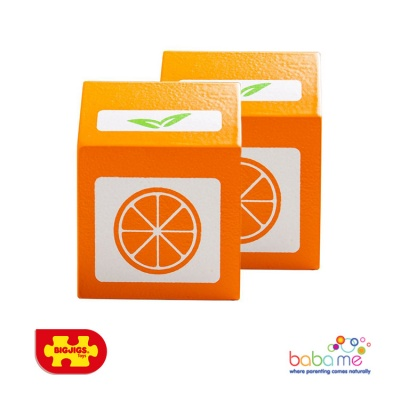 Bigjigs Orange Juice Wooden Play Food