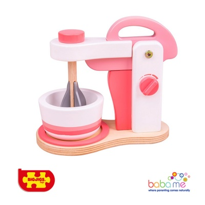 Bigjigs Pink Food Mixer