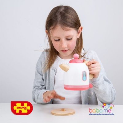 Bigjigs Pink Kettle