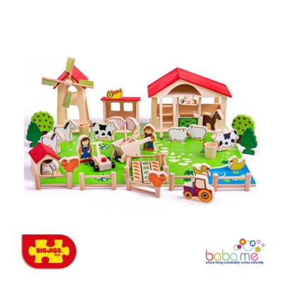 Bigjigs Play Farm