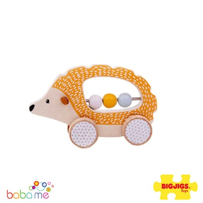 Bigjigs Push Along Hedgehog