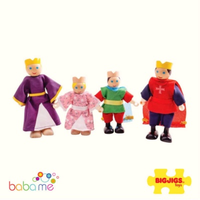 Bigjigs Royal Family Dolls