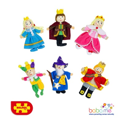 Bigjigs Royalty Finger Puppets