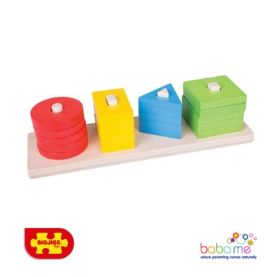Bigjigs Shape Sorting Board