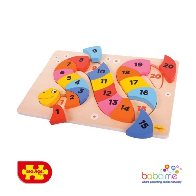 Big Jigs Counting Snake Puzzle
