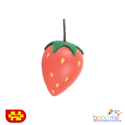 Bigjigs Strawberry Wooden Play Food