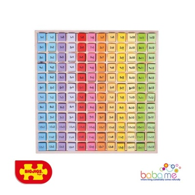 Bigjigs Times Table Tray