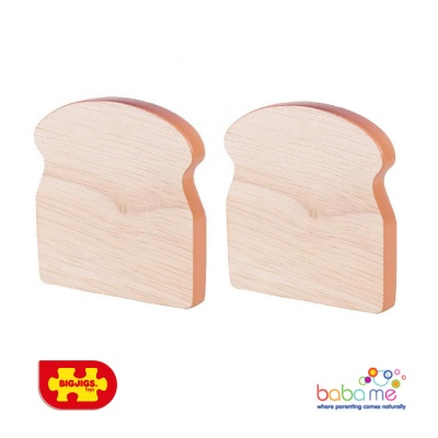 Bigjigs Toast Wooden Play Food